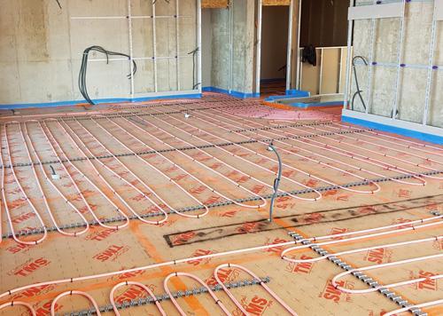 Installation Plancher Chauffant Var