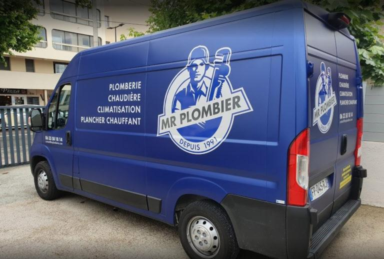 Camion Mr Plombier