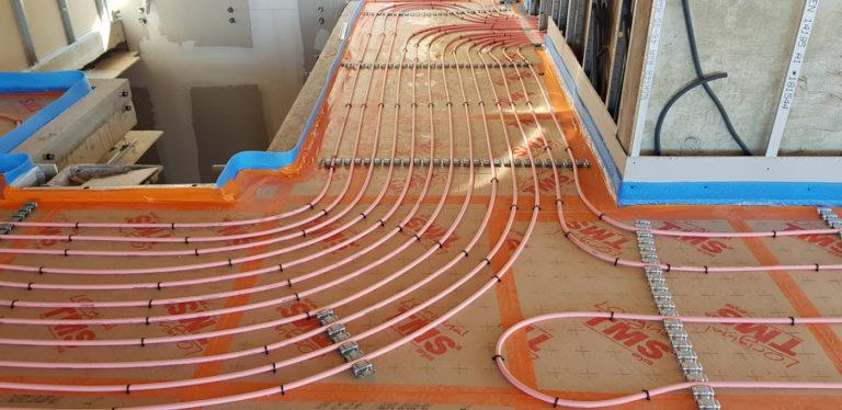 Installation Plancher Chauffant Frejus
